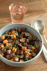 patates douces carottes tofu